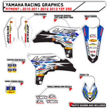 MOTOCROSS TEAM GRAPHICS YAMAHA 2010 2011 2012 2013 YZF 250 YZ250F BIKE DECALS