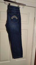 Moschino Blue Slim Stretch Jeans Size 8 / W29 L24 *VGC*