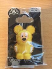 Disney Vinylmation 3D Pins -Mickey Mouse in Poncho  Pin 82567
