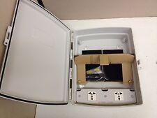 """NEW L-Com Gray Weatherproof Enclosure Box NBP141004-E00 14x10x4"""" 120-240V AC"""