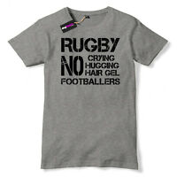 Mens Funny Rugby Slogan T-Shirt 6 Nations