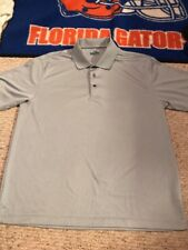 Sam Hogan, Men's Collared Golf Shirt, XL, Light Grey