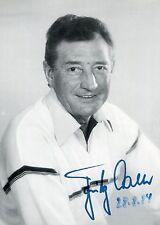 Fritz Walter+ - original signiertes älteres Foto 28.8.84