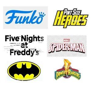 Funko Assorted Pint Size Heroes Crossy FNAF Five Nights Marvel DC #BargainTrend