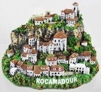 Rocamadour Burg Mittelalter Poly Modell 11 cm Frankreich Souvenir