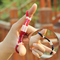 Archery Finger Sling Stretch Arrow Adjustable For Compound Recurve Bow Hunting