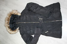 manteau hiver femme, style doudoune, intérieur plume PIMKIE noir -  taille S