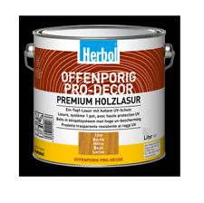 Herbol Offenporig Pro-Decor Premium Holzlasur 2,5L, Buche