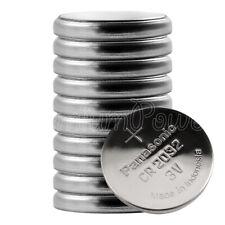 10 x Panasonic Lithium CR2032 batteries 3V Coin cell ECR2032 Watch Calculator
