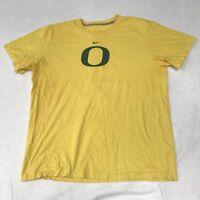 🌴Nike University Of Oregon Men's XL Yellow Short Sleeve Logo T-Shirt🌴