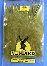 Truthahn Marabou 20 Federn Veniard Turkey Marabou large Medium Olive