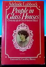 PEOPLE IN GLASS HOUSES Adelaide Luddock Growing up Government House 💥DISCOUNTS