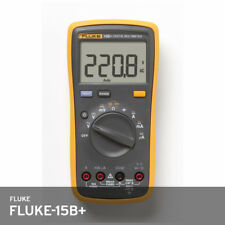 Fluke 15b Auto Range Digital Probe Multimeter Meter Cat3 600v 10a Dcac Fedex