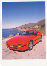 Mazda RX 7 1986 MODERN postcard issued by Green Wood
