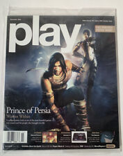 Play Video Game Magazine - November 2004 - Robotech Poster & Prince Of Persia