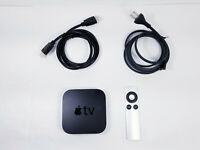 Apple TV (2nd Generation) HD Media Streamer w/ Remote HDMI Model A1378