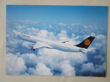 DOCUMENT 1 PAGE RECTO/VERSO DAIMLER AIRBUS A340-300 LUFTHANSA GERMAN AIRLINES
