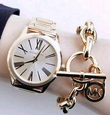 Michael Kors Hartman Gold-Tone Stainless Steel Ladies Watch MK3490
