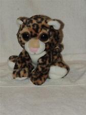 """Aurora Big Eyes Eyed Leopard Cub Plush Stuffed Animal 9"""""""