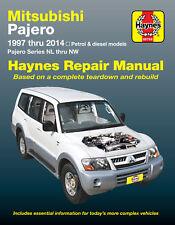 Mitsubishi Pajero Petrol & Diesel 1997-2014 Workshop Repair Manual MPN HA68766