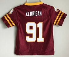 New Ryan Kerrigan #91 Washington Redskins Kids Toddler Boys Football Jersey 2-4T
