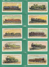 UK Issue Reproduction Railway/Trains Collectable Cigarette Cards
