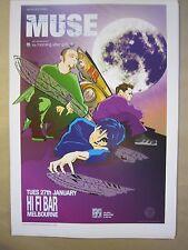 Muse  Hi Fi Bar Melbourne  Jan 27th 2004  Art by Rhys Cooper