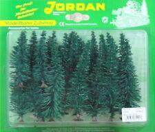 Jordan H0 51 A Set 25 Fichten, Höhe 4 - 12 cm