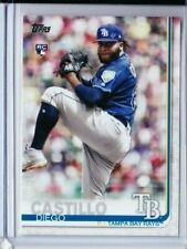 2019 TOPPS SERIES 2 DIEGO CASTILLO ROOKIE #650 ADVANCED STATS /150 RAYS PD