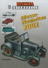 """BREKINA AUTOMODELLE """"Messe Neuheiten 2002"""" Trabant 600, Auto Union 1000 S Coupé"""