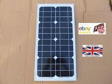 Solar panel 12v 20w mono monocrystalline caravan motorhome boat camping shed