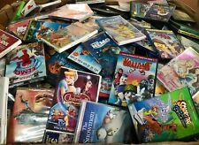 KIDS 30 DVD LOT ASSORTED RAMDOM! Children's Movies & Tv Shows! WHOLESALE PRICES