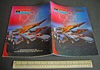 1981 Vintage Monogram USA Plastic Kit Catalogue French Language Edition