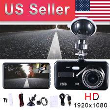 4inch Car DVR Dual Lens HD 1080P Dash Cam Video Recorder Camera Touch Screen