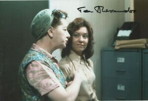 12 x 8  hand signed JEAN ALEXANDER (SCENE FROM CORRIE )- AFTAL COA  undedicated-