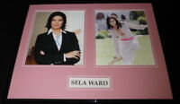 Sela Ward Signed Framed 16x20 Photo Display Sisters Independence Day