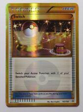Switch HOLO - 163/160 XY Primal Clash - Secret Rare Pokemon Trainer Card