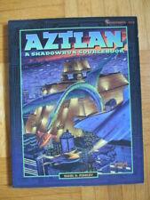 SHADOWRUN – AZTLAN + Map Sourcebook - FASA – English 7213 Roleplaying