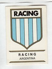 figurina PANINI FOOTBALL CLUBS NUMERO 16 RACING