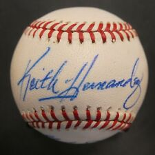 Keith Hernandez & Gary Carter Signed Baseball with JSA COA