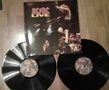 AC DC LIVE 2 DOUBLE SET VINYLS vinilos