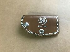 Buick Tri-Shield Leather Car Key Case Holder - Harris Motors Cleveland Ohio