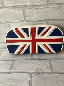 Mod Scooter Slipover Cuppini Backrest Pad in Union Jack Red White Blue 005608