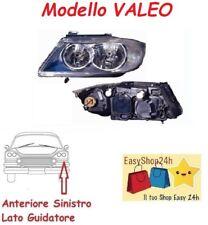 FARO FANALE PROIETTORE ANTERIORE SX PER BMW SERIE 3 E90 E91 2005 08 H7 H7 VALEO