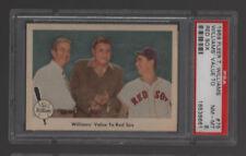 1959 Fleer #75 WILLIAMS VALUE TO RED SOX  PSA 8 NM-MT