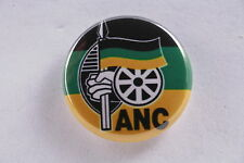 ANC South African National Congress Nelson Mandela Spear Nation Pin Badge Button