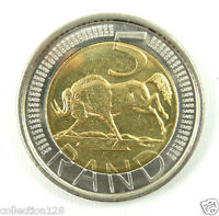 South Africa 5 Rand Bi-Metallic Coin 2004 UNC