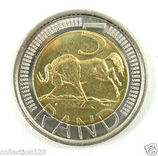 South Africa 5 Rand Bi-Metallic Coin 2004 UNC