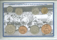 Millwall MFC The Lions Den Vintage Promotion Retro Coin Present Gift Set 1966