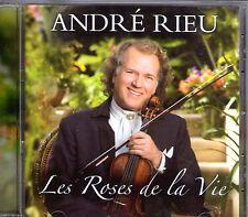CD 16T ANDRE RIEU LES ROSES DE LA VIE ETAT NEUF DE 2010